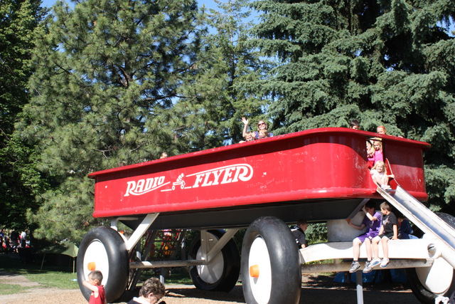 Radio Flyer Wagon Slide (Spokane, WA)