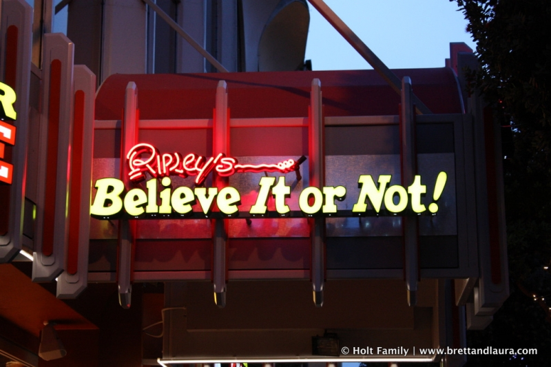 Ripleys Believe it or not San Francisco