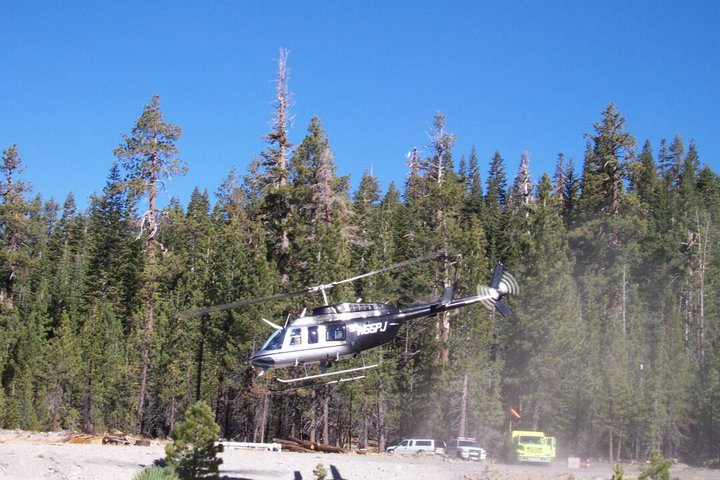 Hole Prescribed Burn at Lassen Volcanic National Park (Nov. 2002)