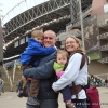 Arriving at Qwest Field