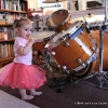 Autumn the ballerina drummer