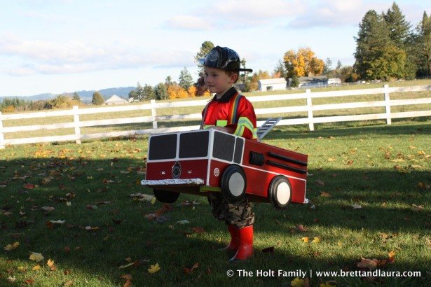 Halloween Fire Truck Fire Engine Halloween Costume
