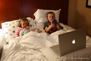 Marriott Hotel, kids