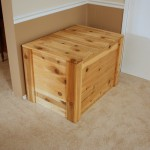 Cedar Wood Storage Chest